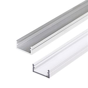 Kanlux Profilo J - Silver and White Lighitng Profile for LED Strips