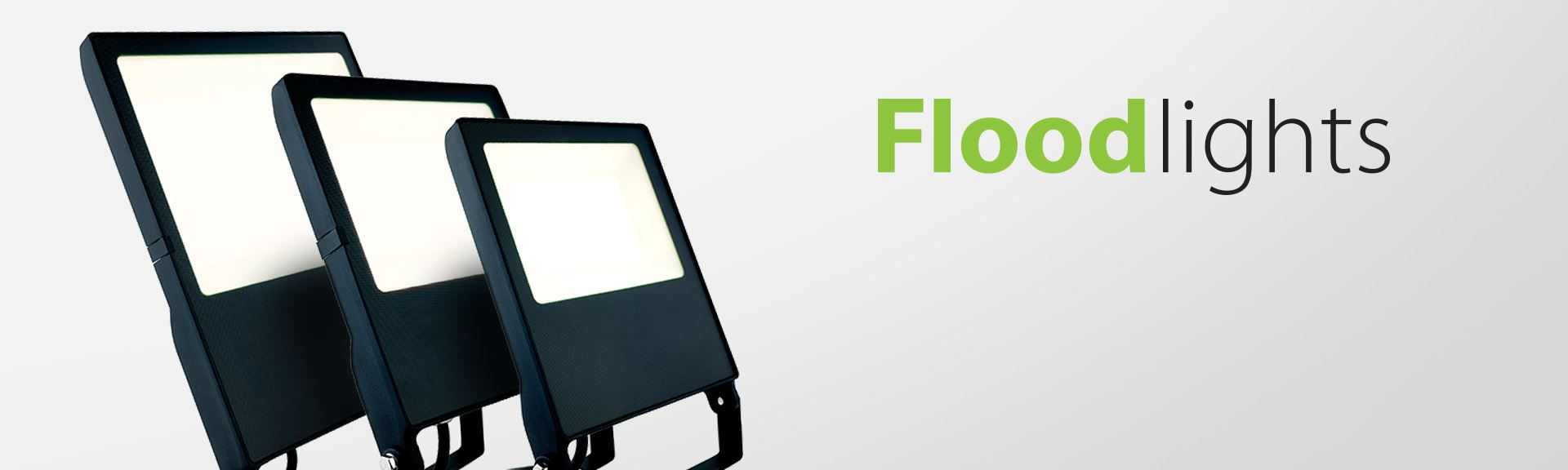LED Floodlights by Vision Lighting for commercial lighting applications