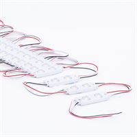 Double LED Module 0.72W IP65 12V 20Pcs String for LED Signage lighting applications