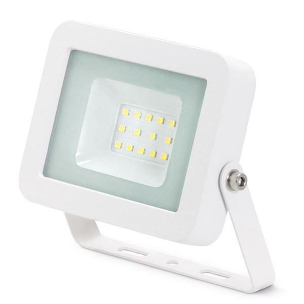 10W LED Floodlight IP44 Alu 4000K White JC45200WH